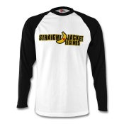Image of SJL Long Sleeve Baseball T-Shirt Black