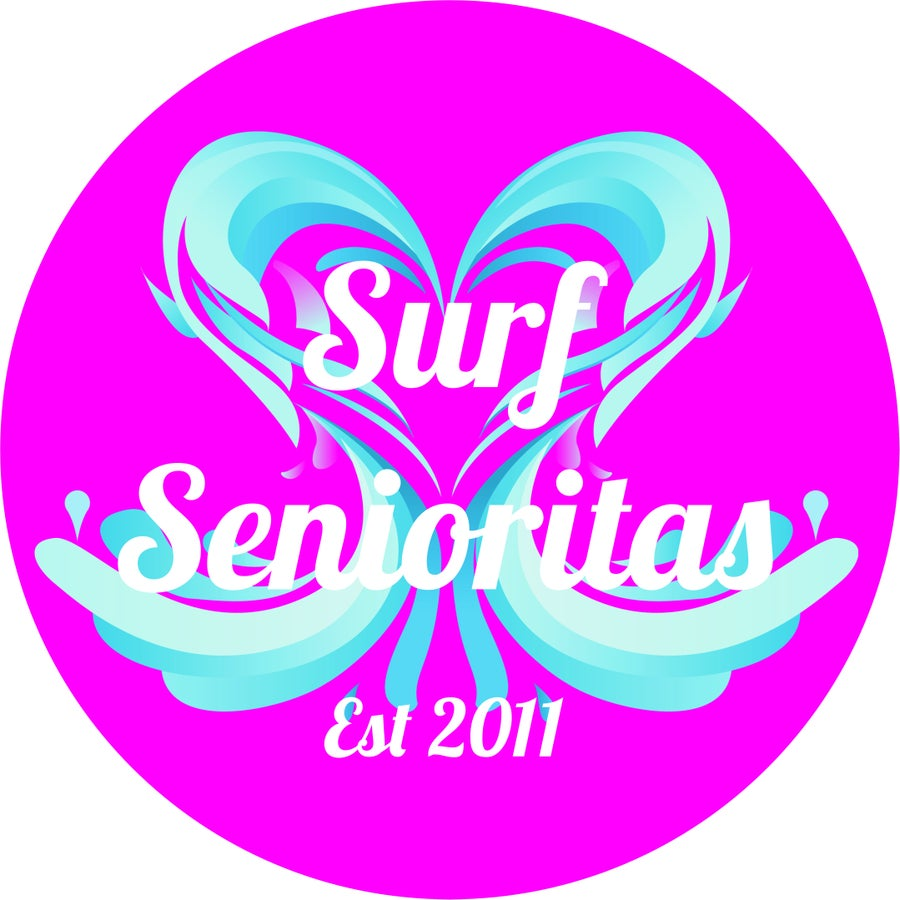 Image of Surf Senioritas Stickers x2