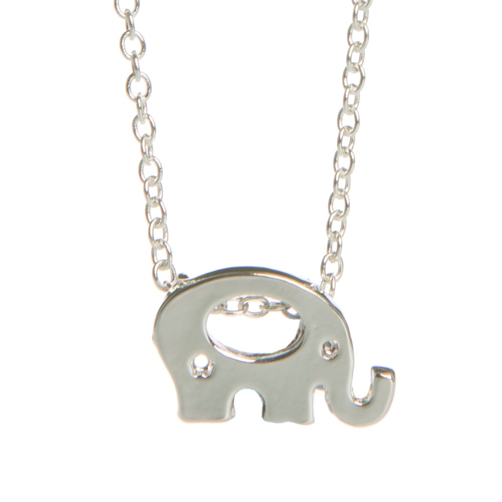 Image of Elephant Charm Necklace