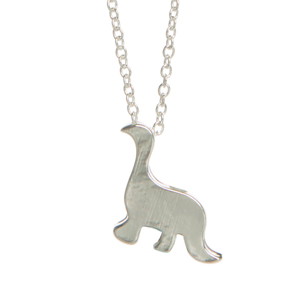 Image of Dino Charm Necklace