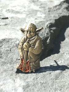 Image of Yoda Languedoc pin