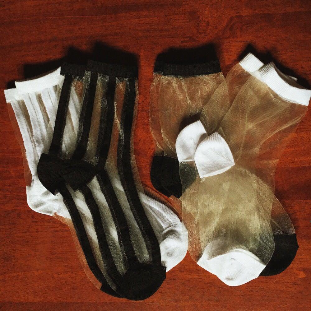 Image of Staple Mesh Socks