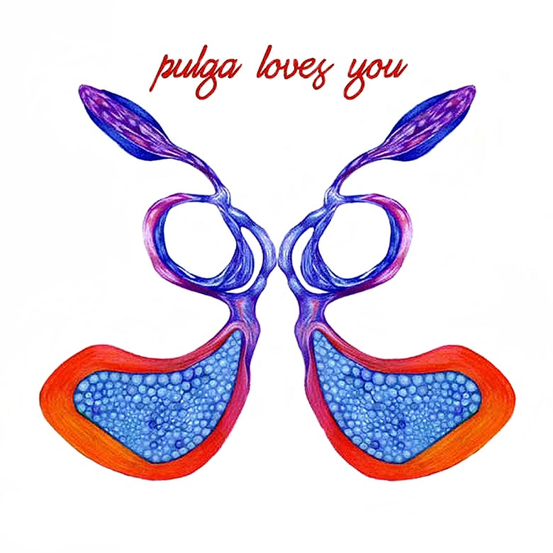 "Image of Pulga - ""Pulga Loves You"" DL - DS014"