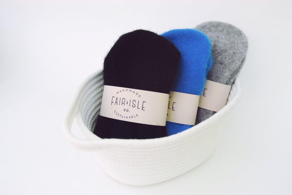 Image of Cashmere Bed Socks