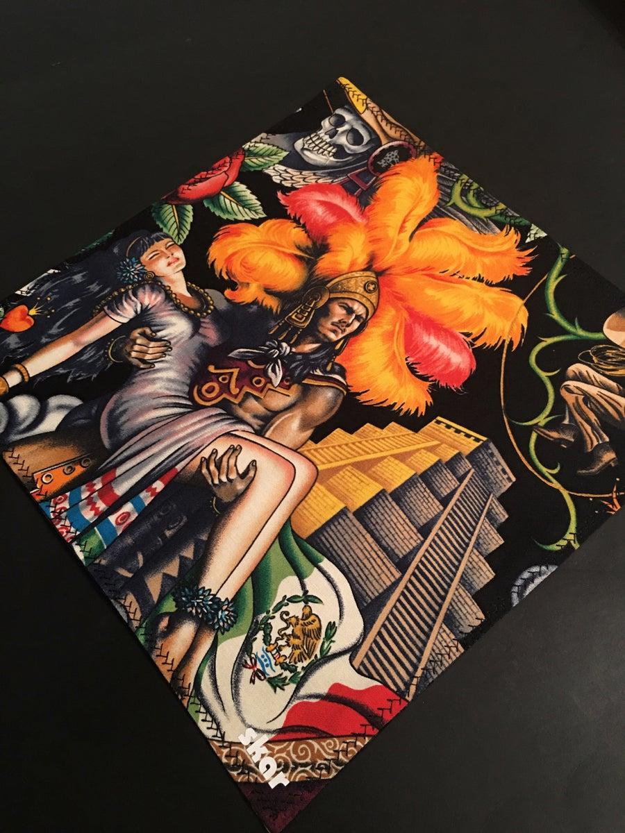 Image of Aztec Warrior