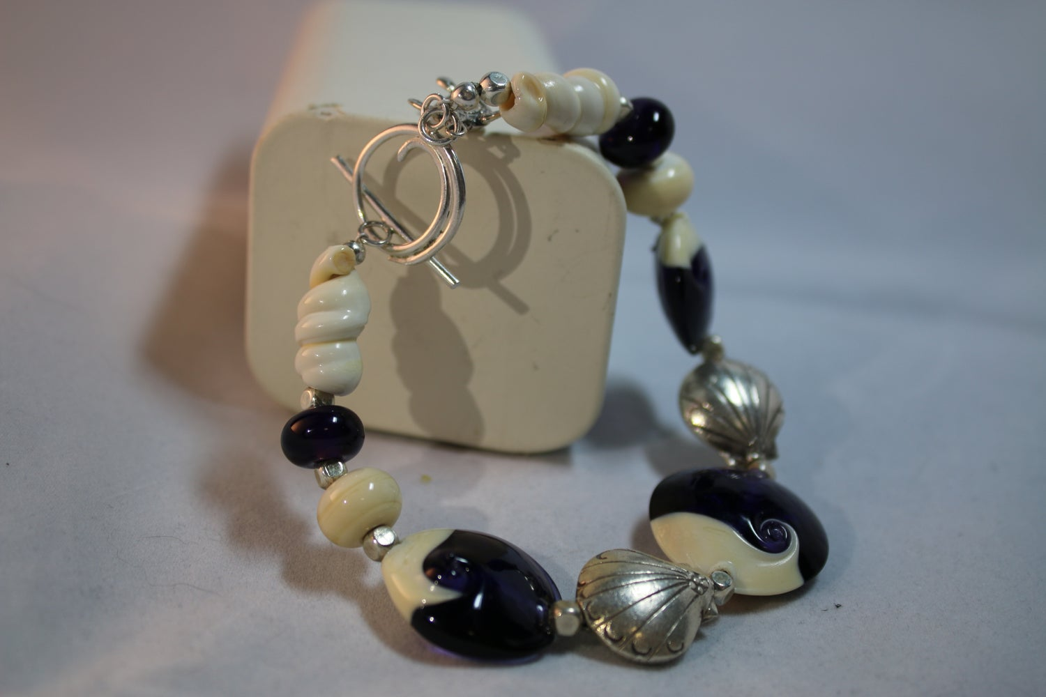 Image of Purple seashore bracelet