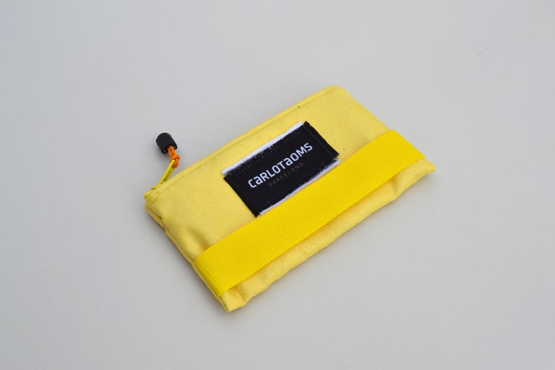 Image of Allegory yellow wallet