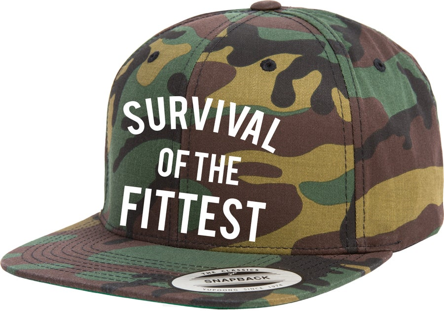 Image of Survival of The Fittest Snapback