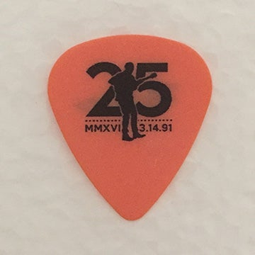Image of 25th Anniversary Commemorative Guitar Picks