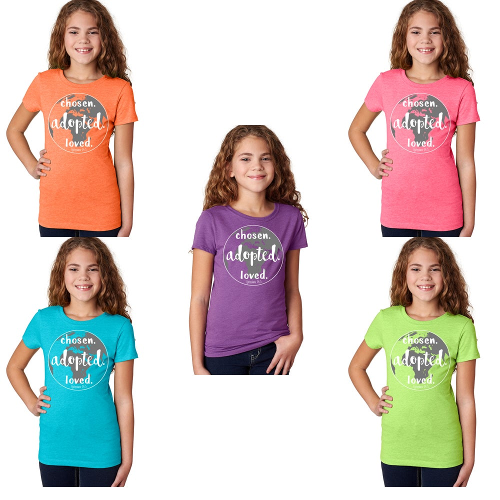Image of Girls' Fitted Tee