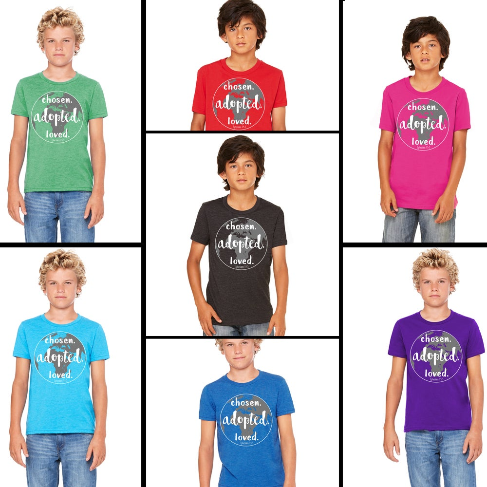 Image of Youth Unisex Tee - 7 COLORS