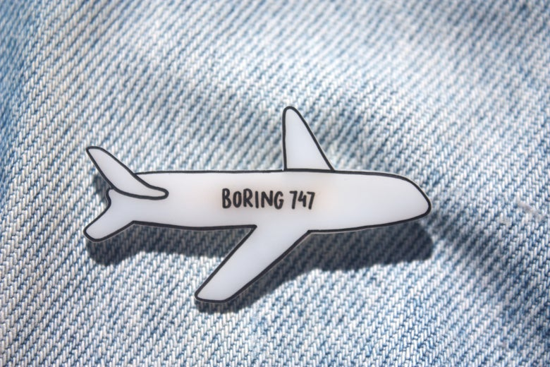 Image of Boring 747