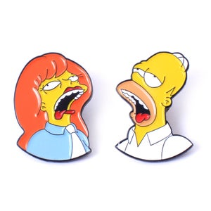 Image of Homer & Mindy Pin Set