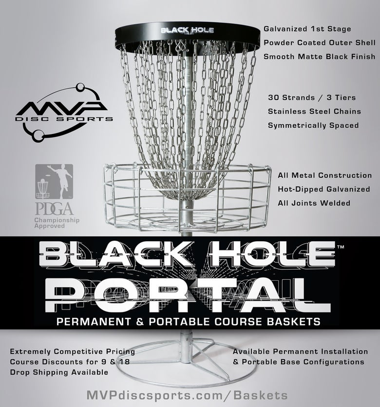 Image of Black Hole™ Portal Course Basket