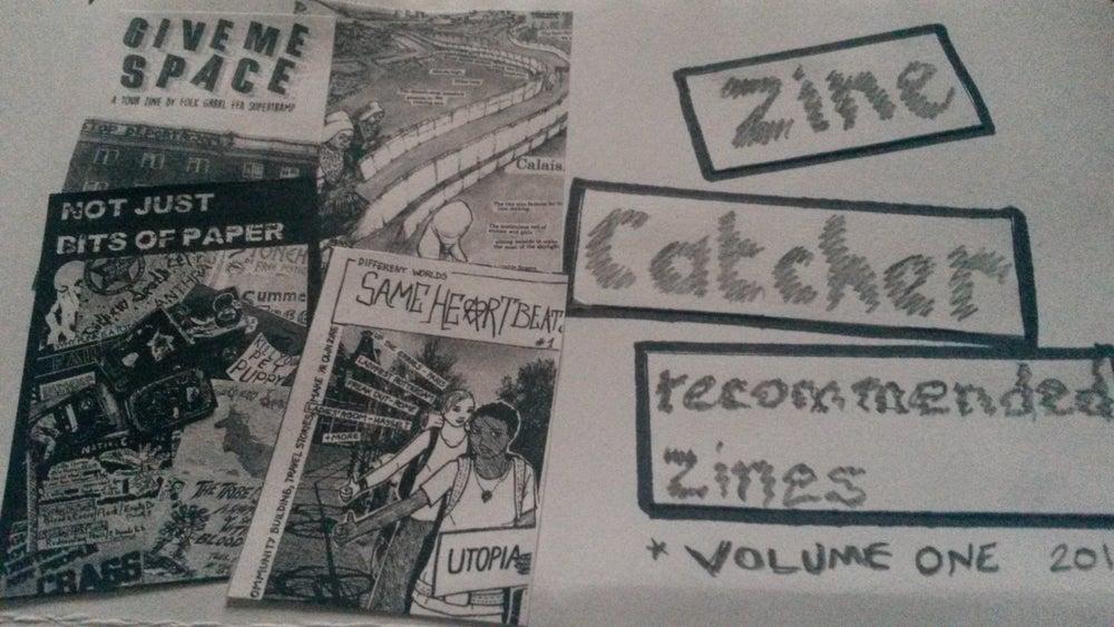 Image of Zine Catcher - zine reviews, issue 1