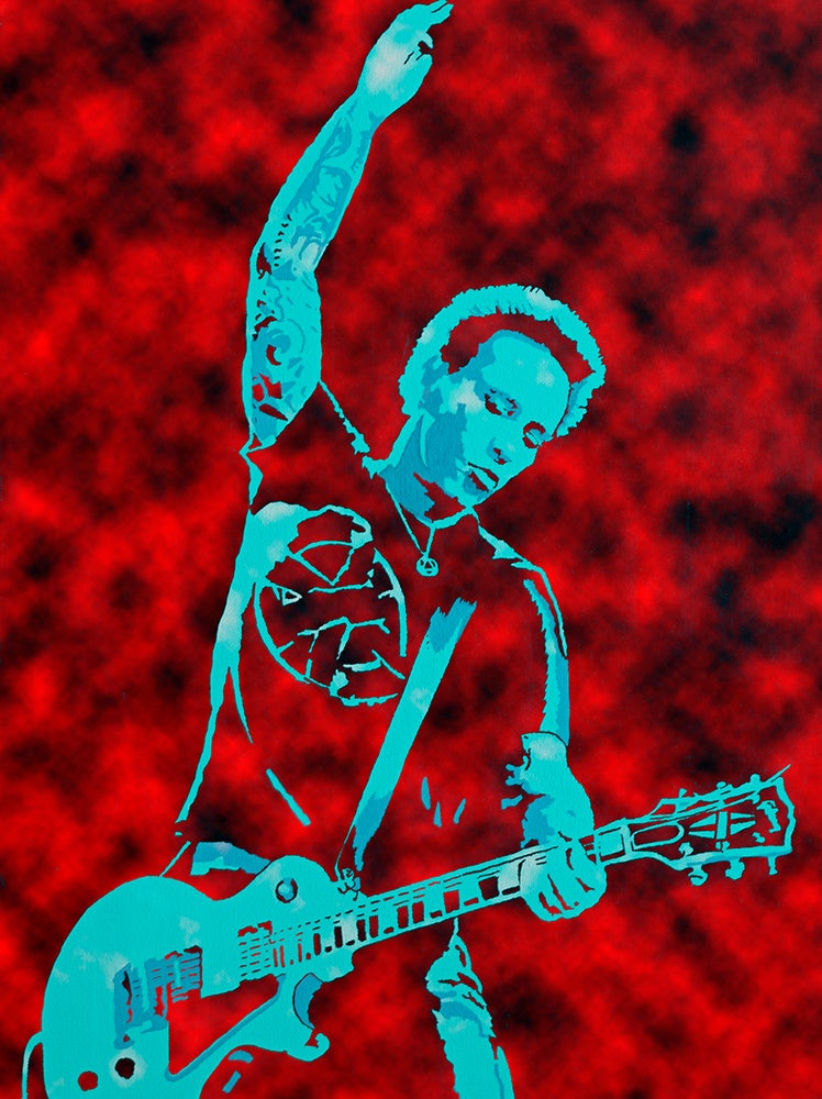 """Image of MORRISON LIVE RED EDITION 18"""" x 24"""""""