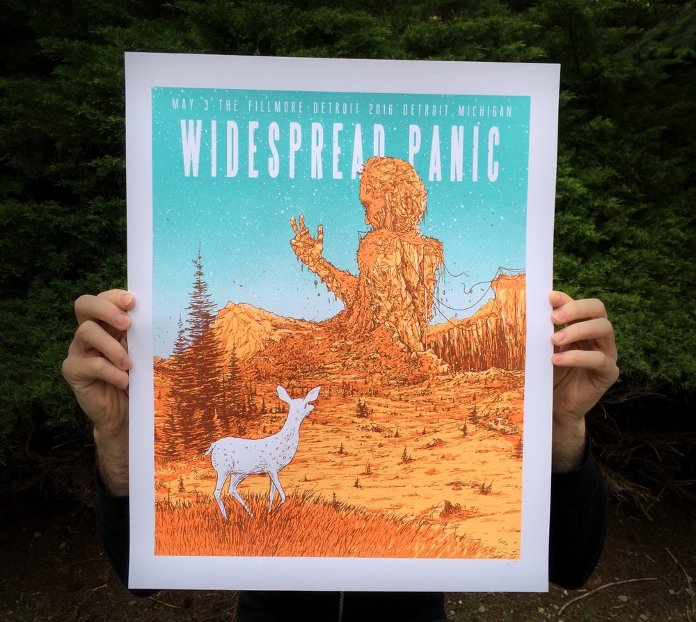 Image of  Widespread Panic May 3rd Fillmore Detroit Michigan