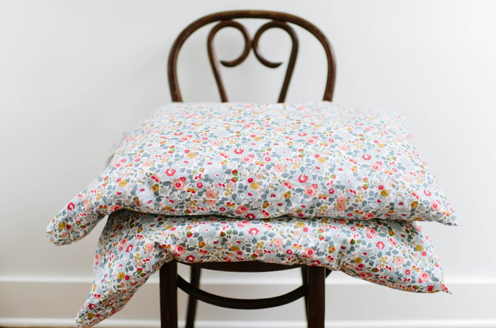Image of Floral Pillowcases