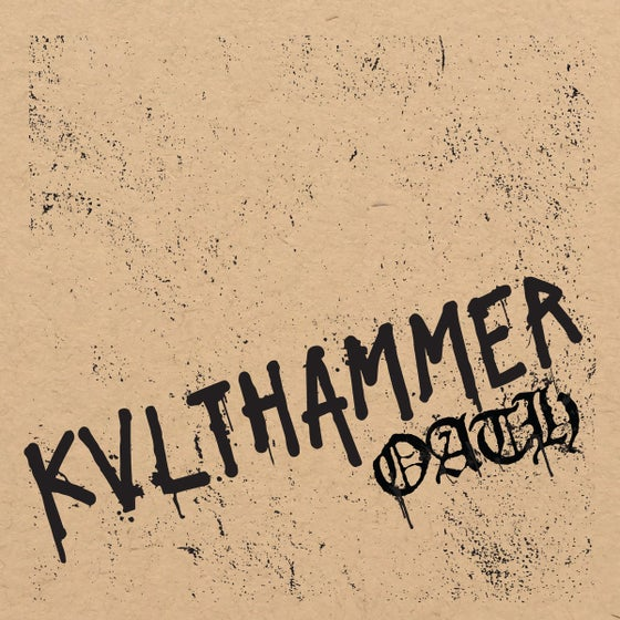 "Image of Kvlthammer ""Oath"" full length cassette"