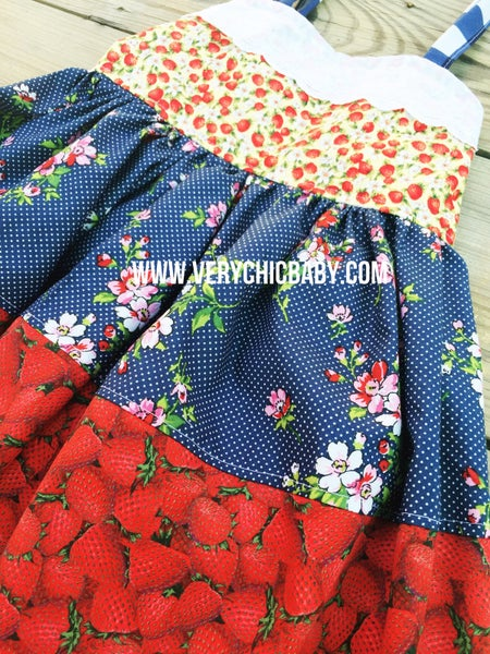 Image of Berry lovely dress