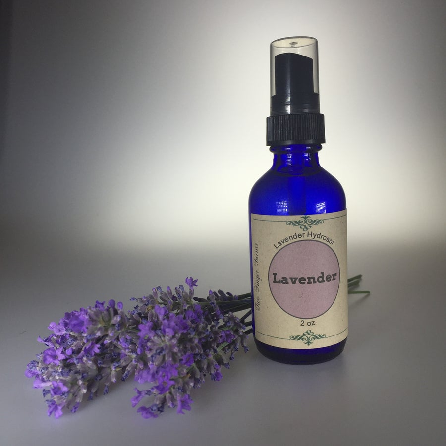 Image of 2 oz Lavender Hydrosol spray