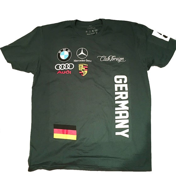 Image of Club Foreign Germany Green Short Sleeve T-Shirt