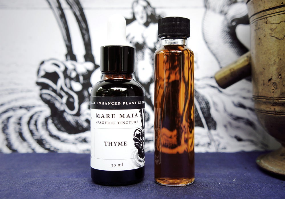 Image of THYME spagyric tincture - alchemically enhanced plant extraction