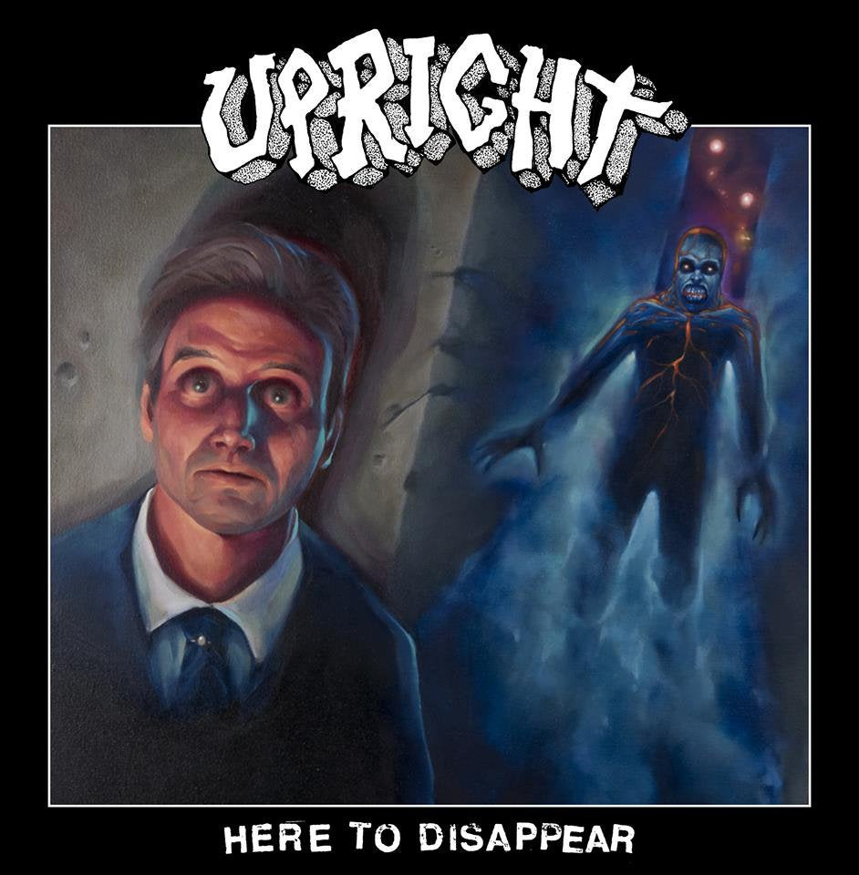 Image of Upright 'Here to Disappear' LP Finnish Hardcore