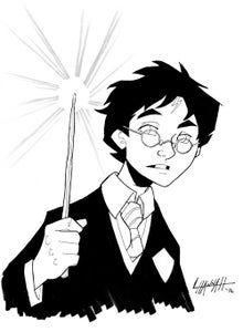 Image of Harry Potter Art