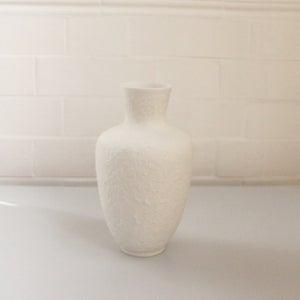 Image of German Bisque Porcelain Vase
