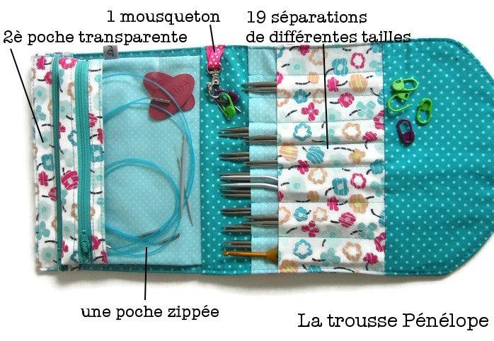 Image of Tutoriel de la Pochette de rangement Penelope