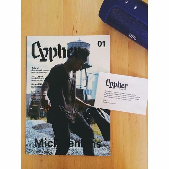 Image of Cypher Mag Issue 01 |Print Edition|