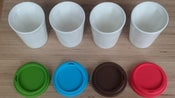 Image of Therma Four Colour Set (Red Green Blue and Brown lids)
