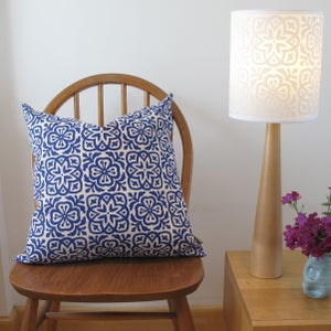 Image of Moroccan Tile Square Cushion