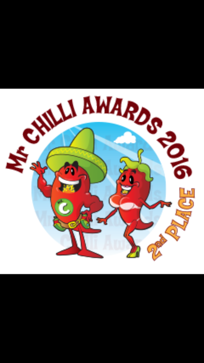 Image of Sweet Spiced Chilli 2nd Place 2016 & 3rd Place 2017