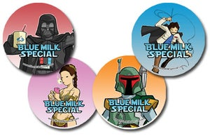 Image of Blue Milk Special Buttons - Wave 1