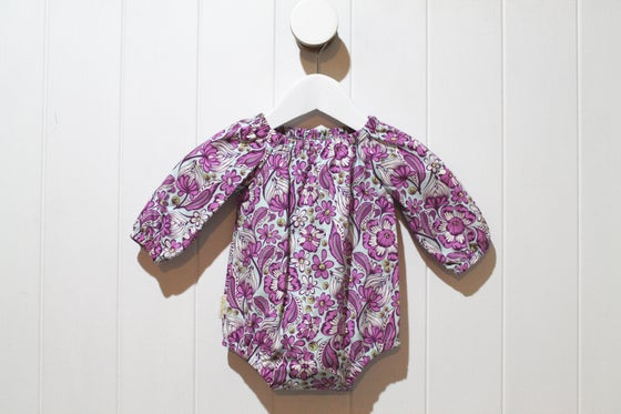 Image of Gypsy Floral - Long Sleeve Romper Playsuit