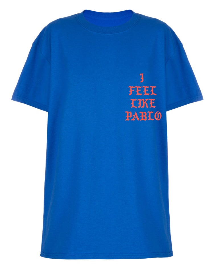 Image of 'I Feel Like Pablo' Tee Blue