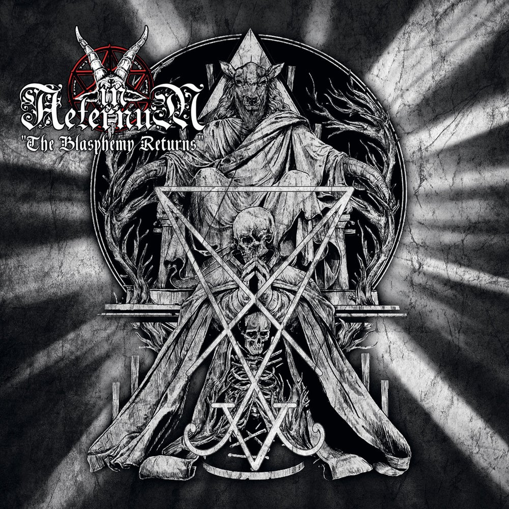 "Image of IN AETERNUM ""The Blasphemy Returns"" Mini CD"