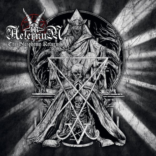 "Image of IN AETERNUM ""The Blasphemy Returns"" Mini CD"