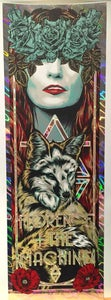 Image of FLORENCE + THE MACHINE gig poster - HOLO VARIANT