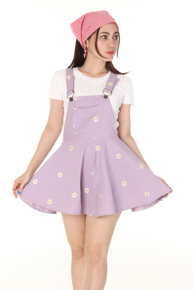 Image of Lilac Daisy Pinafore
