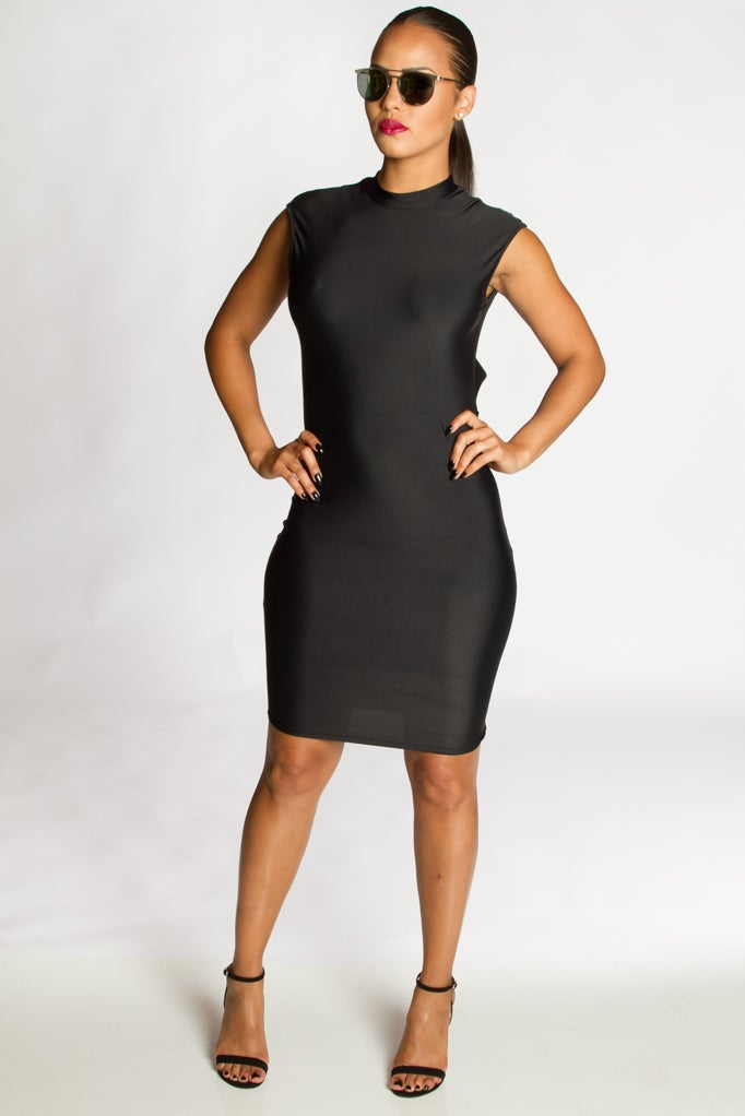 Image of IMA Cutout Mini Dress