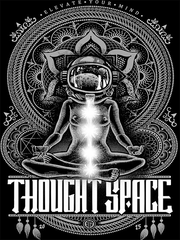 Image of Meditation Black Print