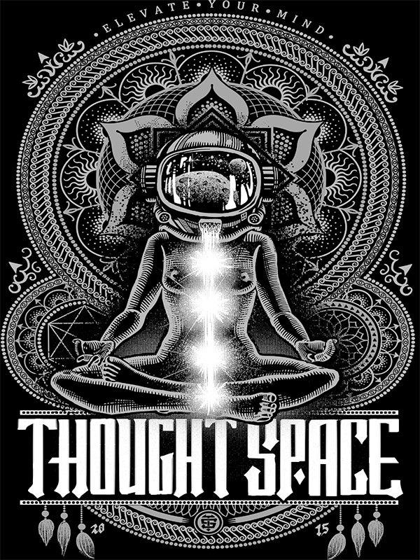 Image of Meditation Black Print