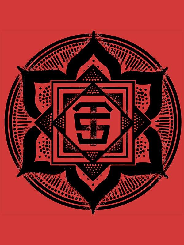 Image of Red Logo Print