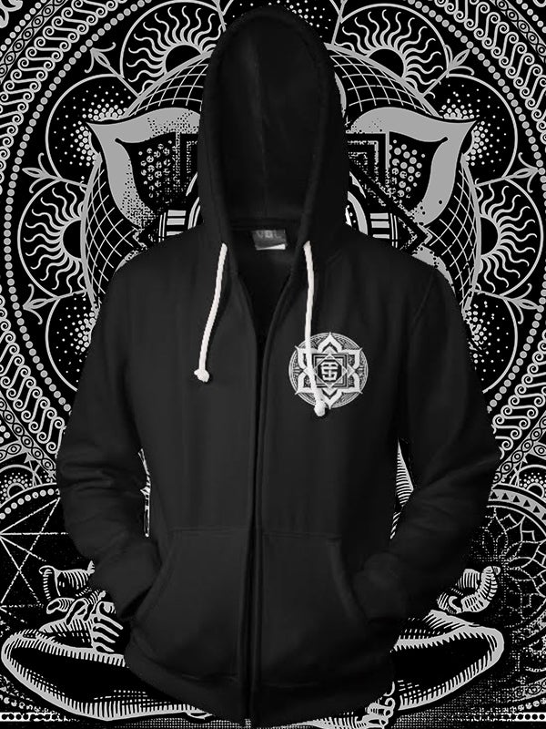 Image of Dave Tevenal Limited Edition Tattoo Convention Hoodie Style 2