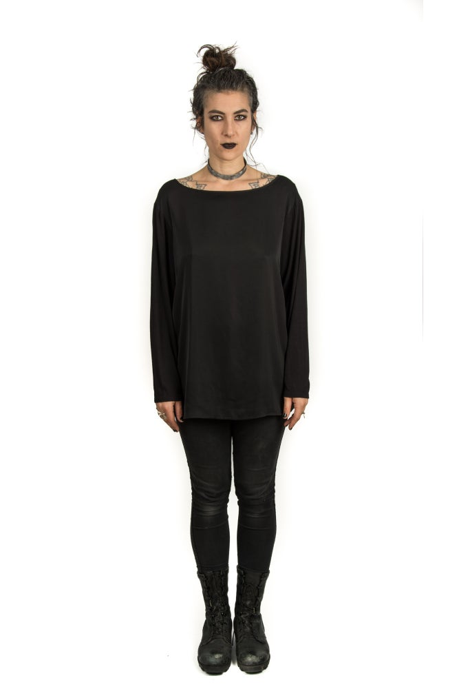 Image of Basic Long Sleeved Top