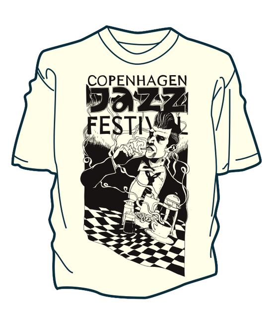 Image of Øko T-Shirt - Copenhagen Jazz Festival 2016