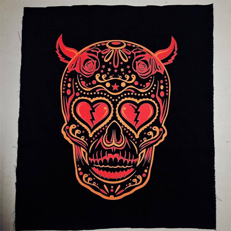 Image of Los Diablos jacket patch.